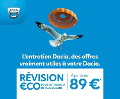 offre révision Dacia
